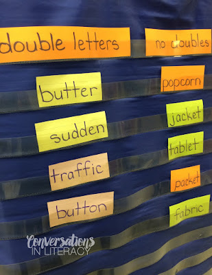 Multisyllabic word activities