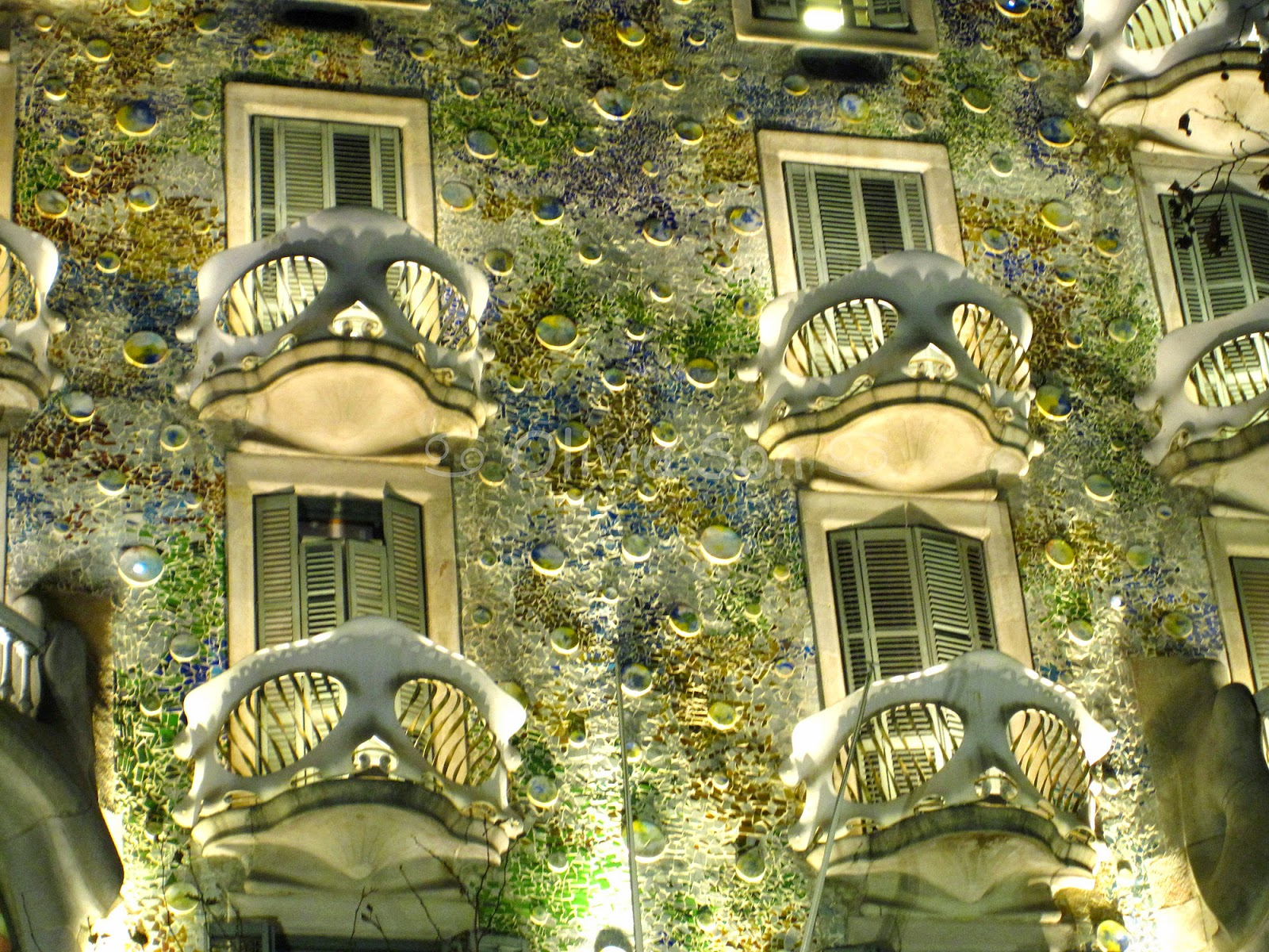 casa batllo barcelone, espagne, europe