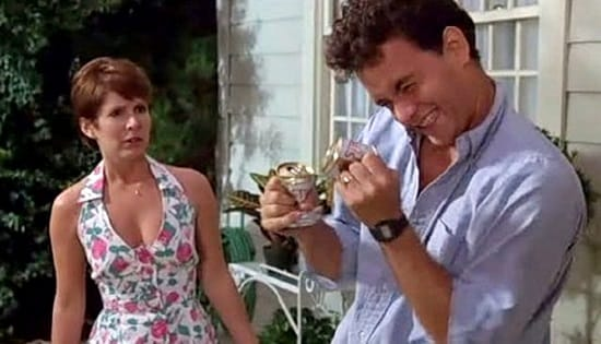 Carrie Fisher- Tom Hanks- L'erba del vicino 1989