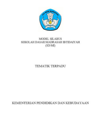 Silabus SD MI Kurikulum 2013 semua Kelas