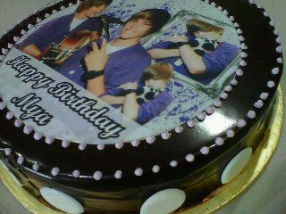 Happy Birthday Mya Chocolate Moist Cake