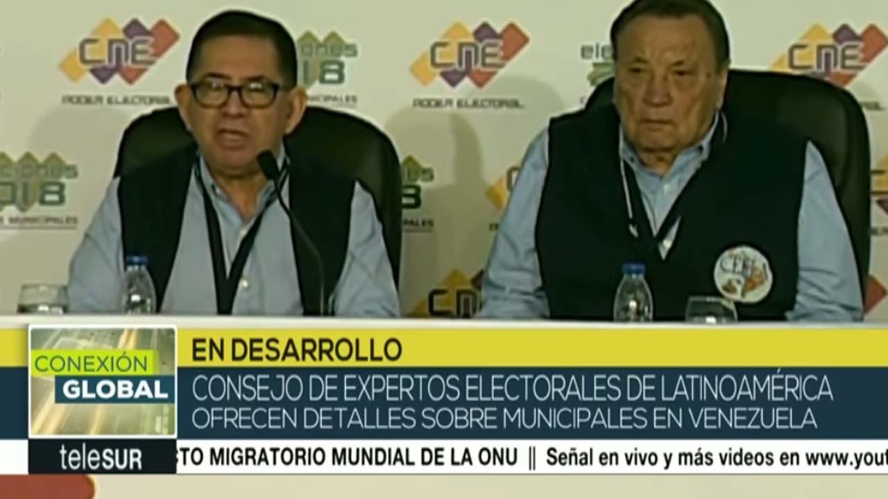 Venezuela: expertos califican positivamente elecciones municipales