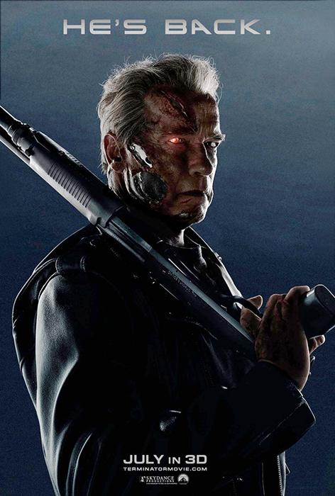 Noul poster pentru Terminator: Genisys, ne anunţă că Arnold se întoarce