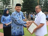 Wali Kota Pimpin Upacara Hari Kesehatan Nasional ke-54