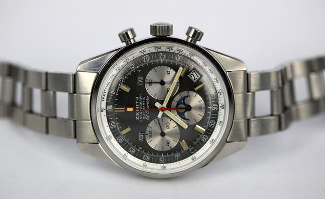 d924e2aea27 Estação Cronográfica  Relógio Zenith El Primero cronógrafo