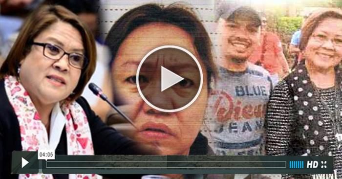 WATCH: Proof Na Si De Lima ay Isang Drug Lord Protektor?