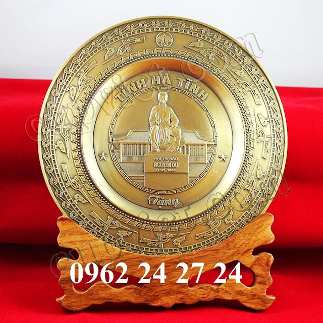 nơi đúc đĩa theo yêu cầu, nhận trạm khắc nội dung lên đĩa đồng - 260089