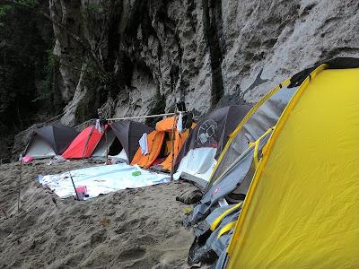 campsite in Krueng Teunom