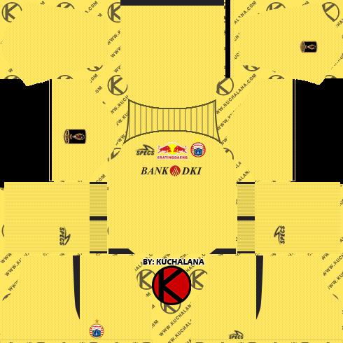 Persija Jakarta Kits 2019 Dream League Soccer Kits Kuchalana