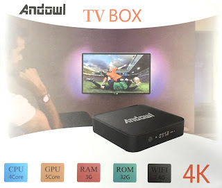 andowl box tv otg 3gb ram