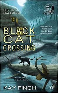 Black Cat Crossing book cover.