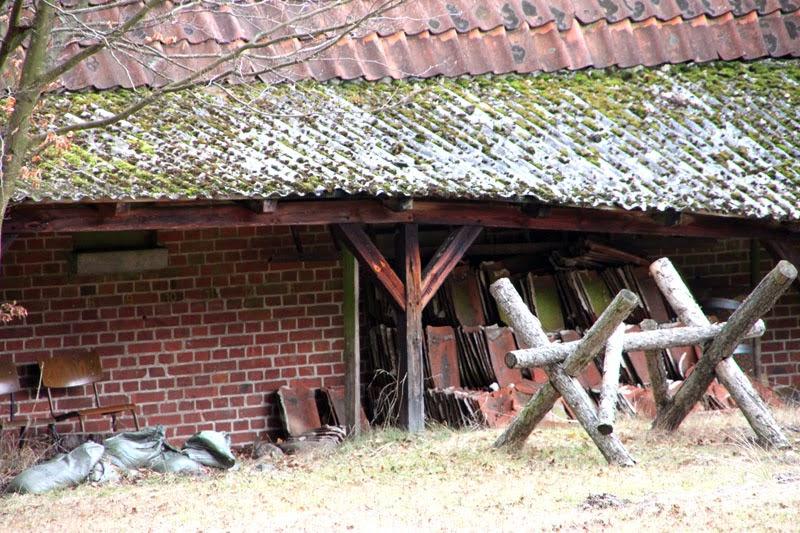 Auch Deutschland Hat Verlassene Dörfer Lopau Pepelinchen Der