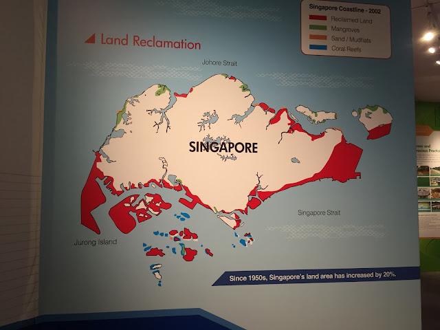 singapore land reclamation history