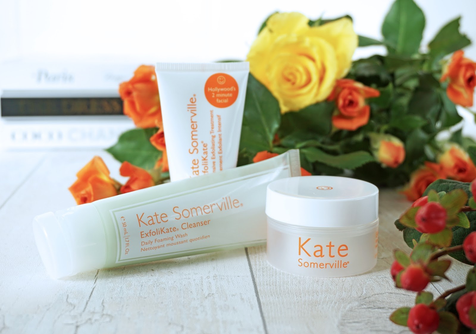 Kate Somerville Exfolikate skincare set