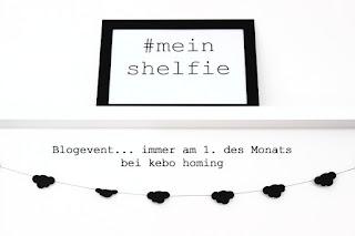 monatliches Blogevent, Linkparty, Blogparty, Linksammlung zu #meinshelfie auf dem Südtiroler Food- und Lifestyleblog kebo homing