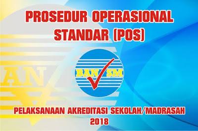 POS Akreditasi ini menjadi panduan dan aliran resmi terkait mekanisme dalam pelaksanaan a POS Akreditasi Sekolah/Madrasah Tahun 2018