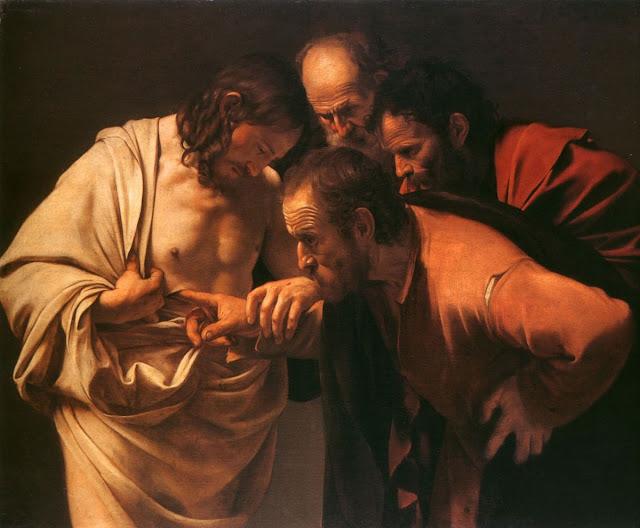 Saint Thomas par le Caravaggio