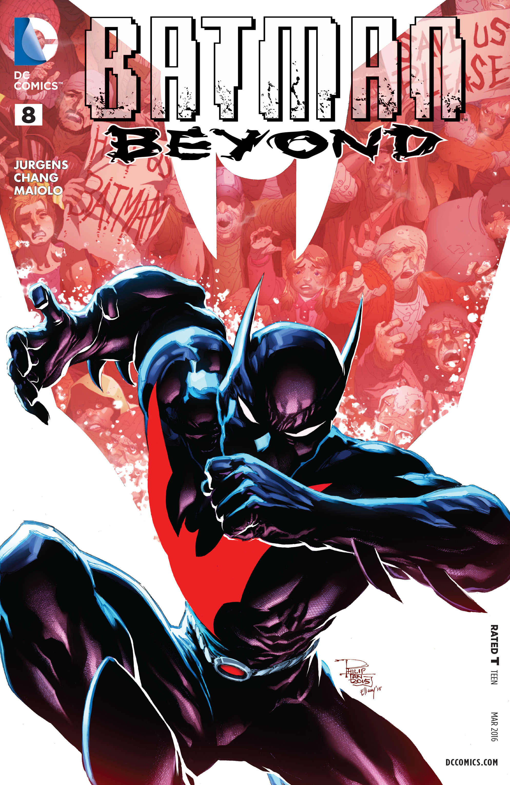 Batman Beyond (2015) issue 8 - Page 1
