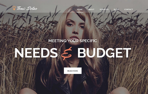 Gorgeous and Well Featured Photographer WordPress Theme