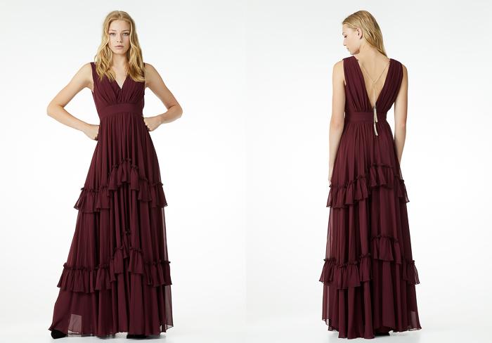 Maxi vestido largo Colección La reina del Edén de Liu Jo
