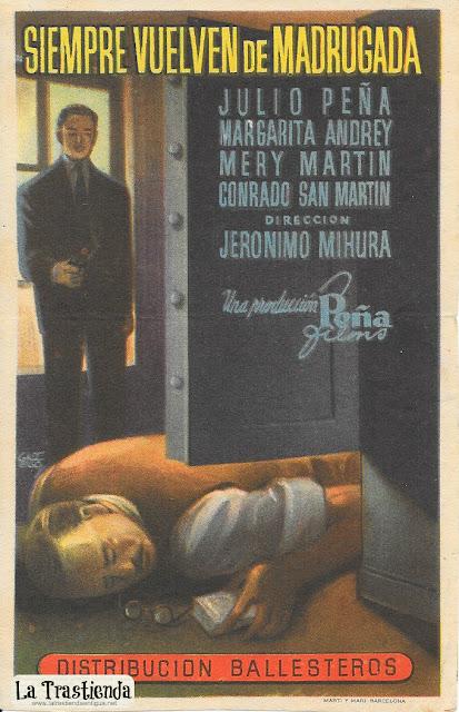 Siempre Vuelven de Madrugada - Programa de Cine - Julio Peña - Margarita Andrey
