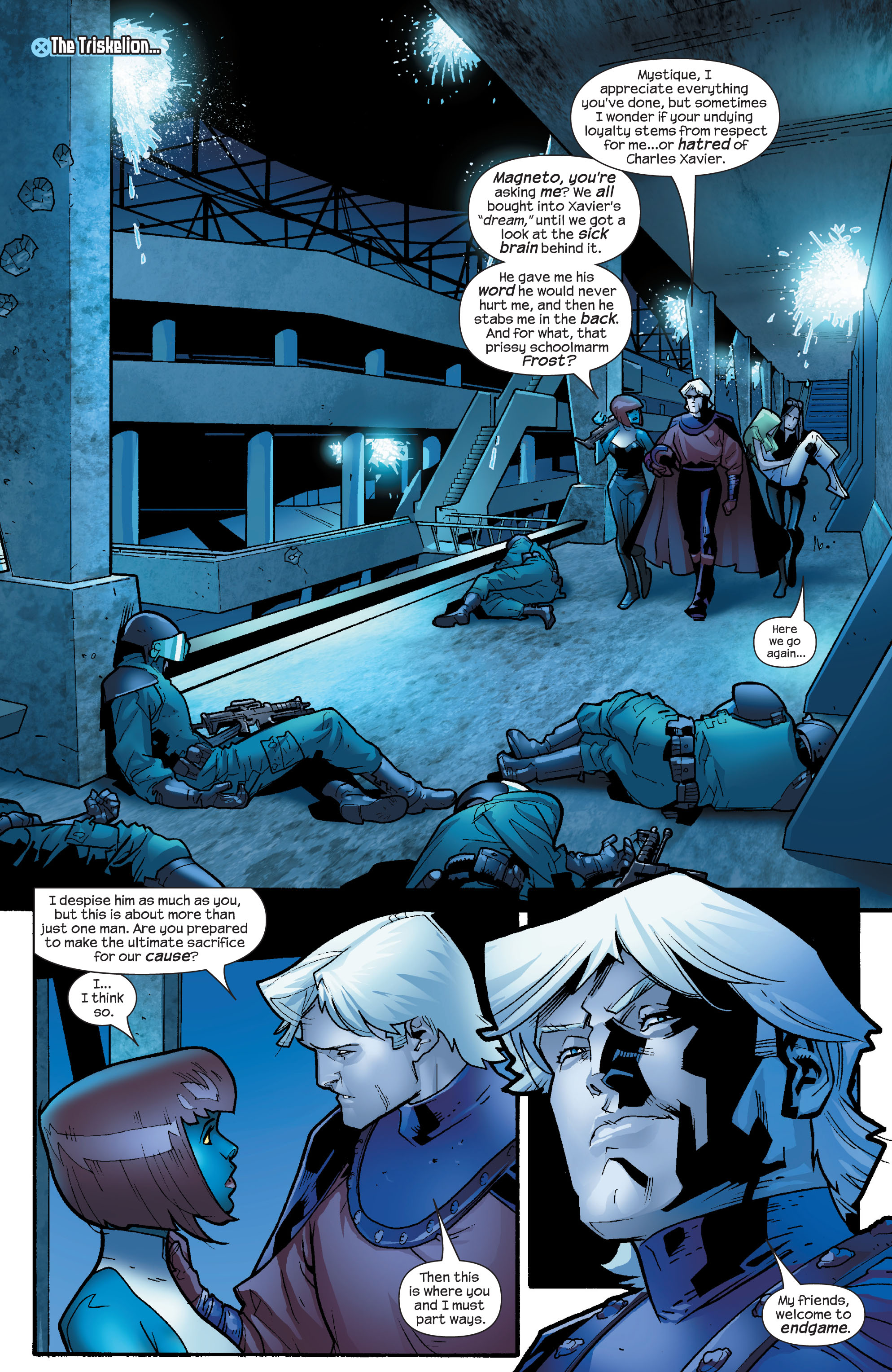 Read online Ultimate X-Men comic -  Issue #65 - 3
