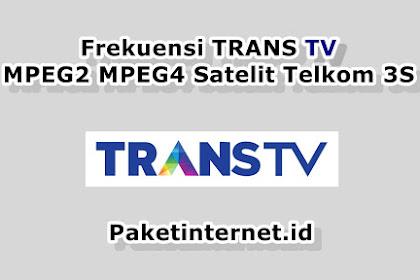 √ 7 Frekuensi TransTV terbaru  melalui UHF di Indonesia
