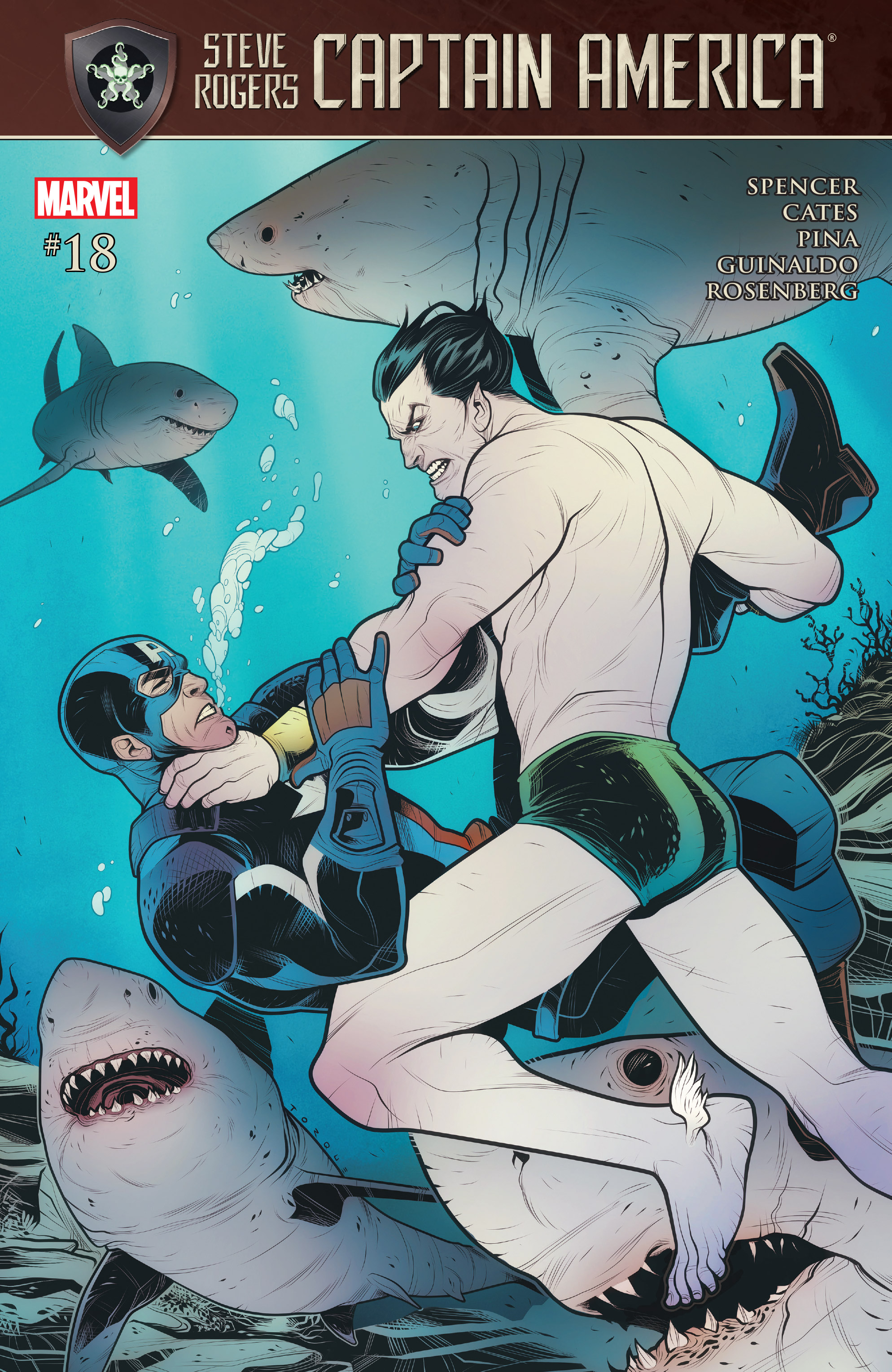 Read online Captain America: Steve Rogers comic -  Issue #18 - 1