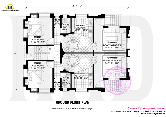Ground floor plan 2016