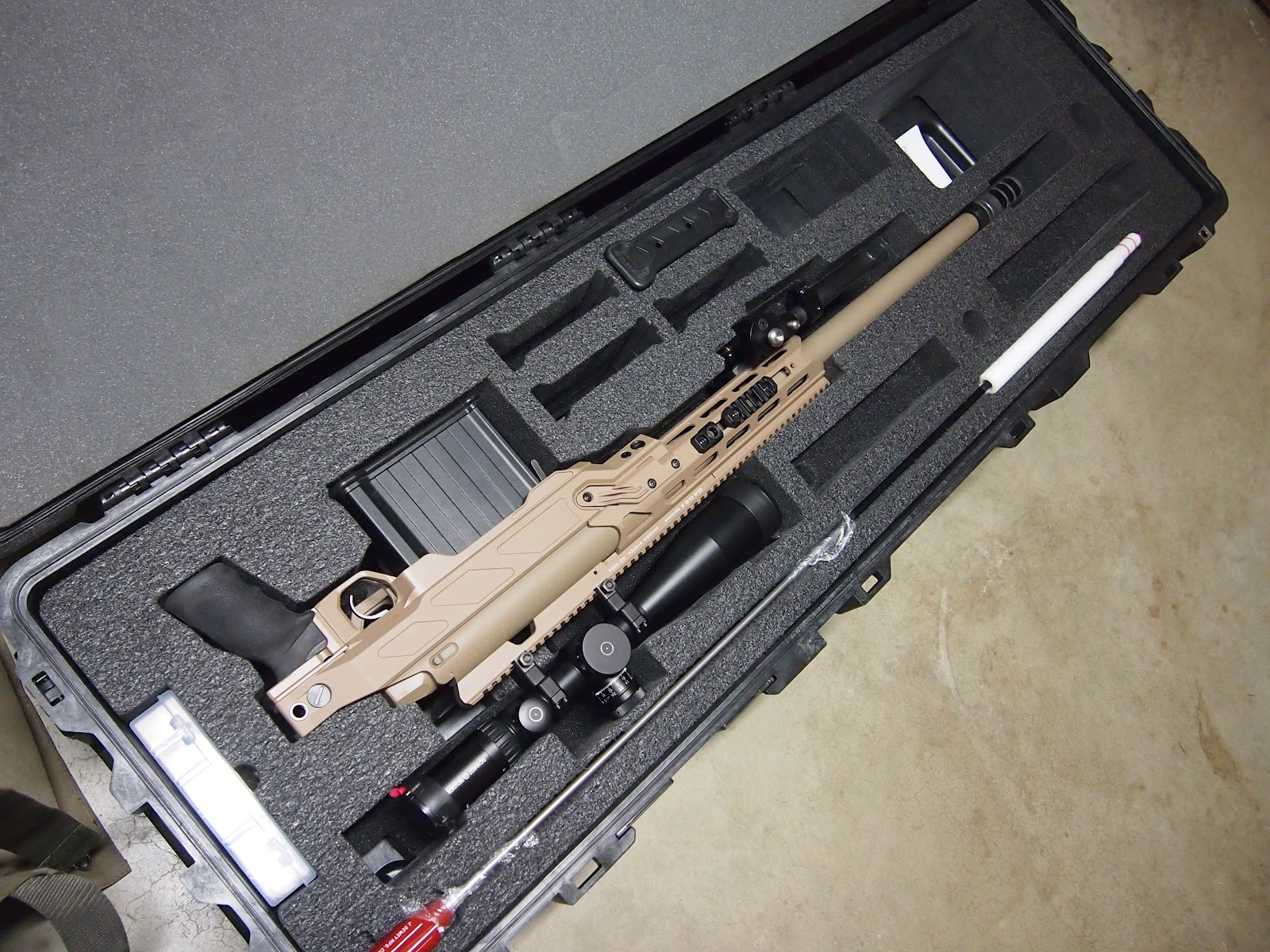 Mister Donut's Firearms Blog: PGW LRT-3 in the Cadex Dual