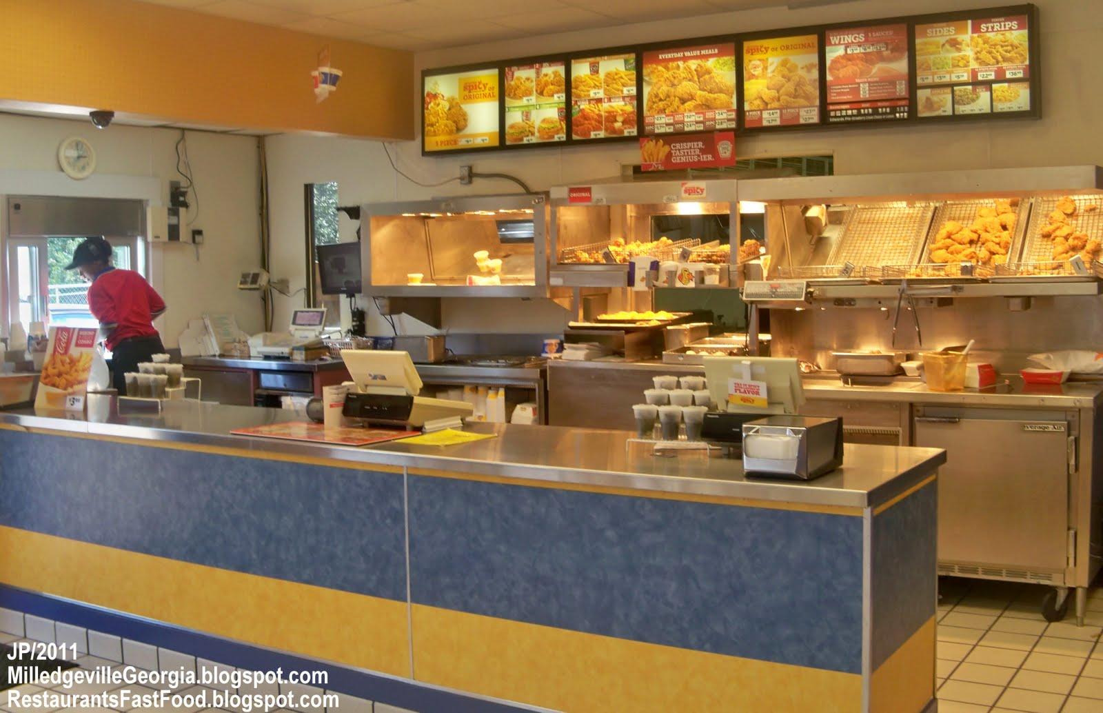 Fast Food Chicken Restaurants In Georgia
