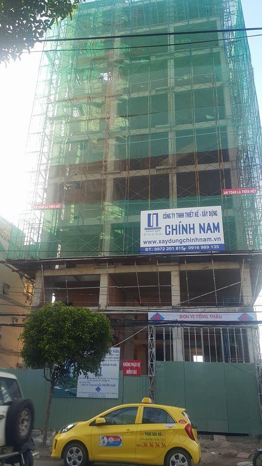Giám sát thi công tòa nhà Văn Tín Nghĩa