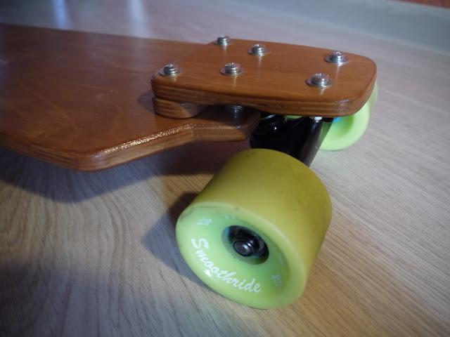 Compact drop-down longboard