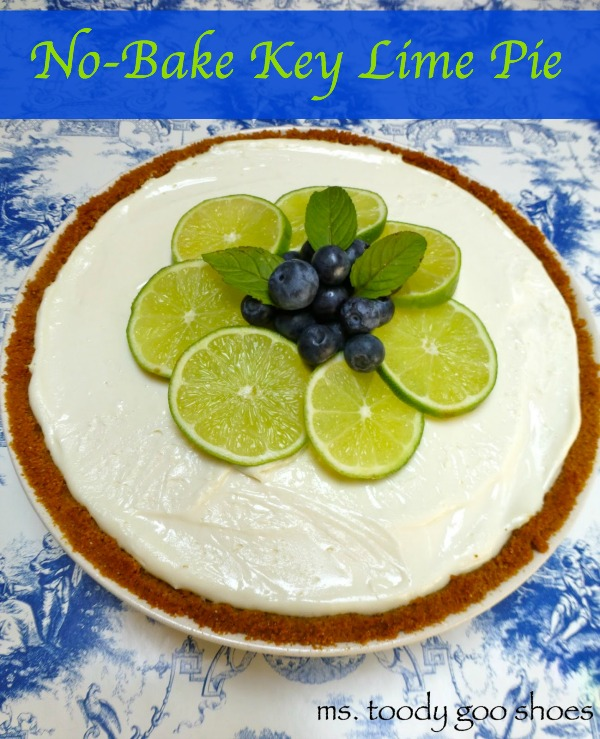 No-Bake Key Lime Pie | Ms. Toody Goo Shoes