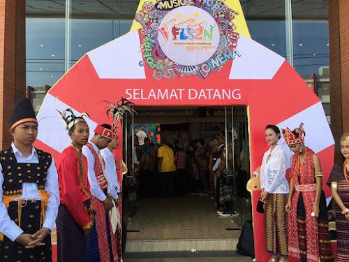 Pembukaan FLS2N di Millenium Kupang NTT