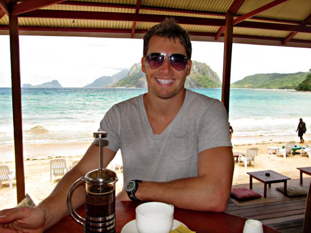 El Nido Beach Overlooking