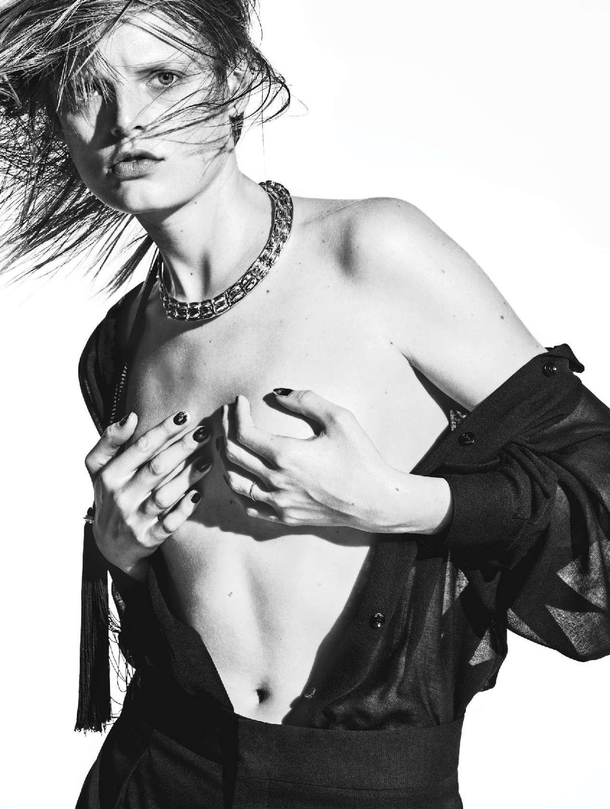 Leaked Photos of Hanne Gaby Odiele
