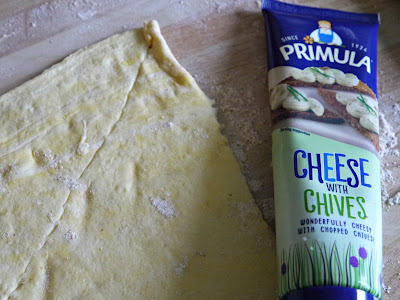 Primula cheese, croissant dough, recipe