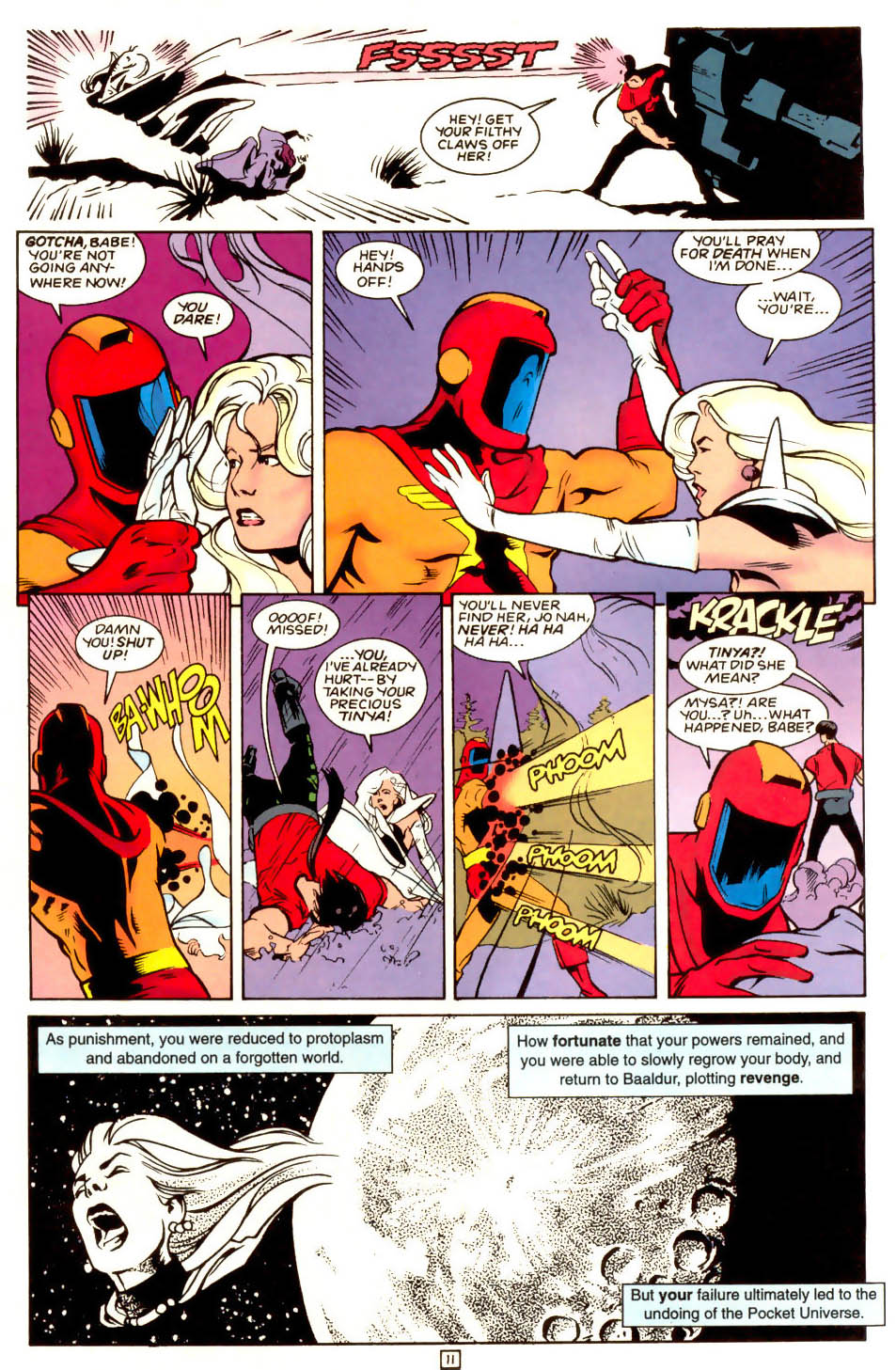 Legion of Super-Heroes (1989) 53 Page 11