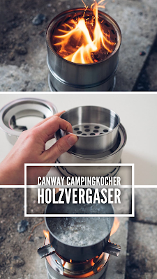 Gear of the Week #GOTW KW 51 | Canway Campingkocher Holzvergaser | Canway-Holzvergaser