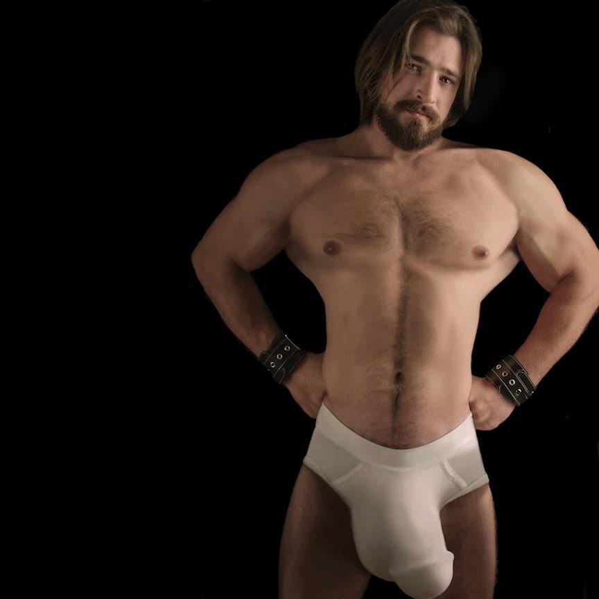 huge morphed cock bulges