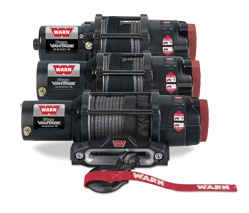 hight resolution of warn provantage winches