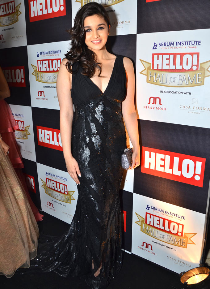Alia bhatt hall of fame awards ceremony 2012 – 2013 pictures