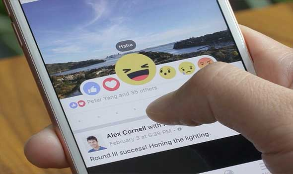 iPhone with emoji