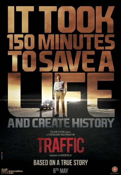 Poster Of Traffic 2016 480p Hindi DVDScr Full Movie Download