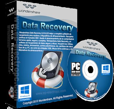 Wondershare Data Recovery 5.0.9.6 multilenguaje + portable
