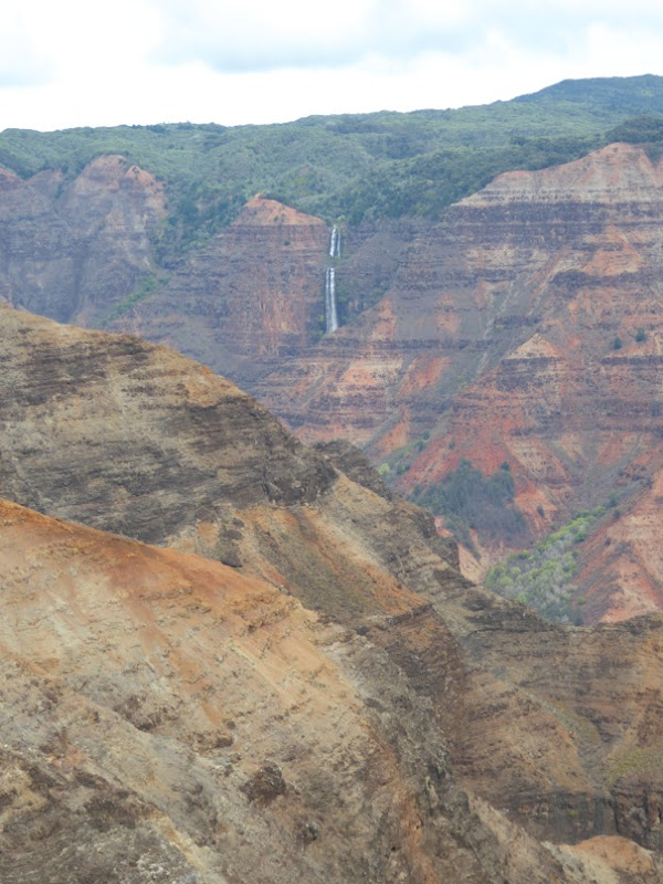 Waimea Canyon Lookout view Kauai