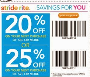 picture about Stride Rite Printable Coupon known as Stride ceremony coupon codes