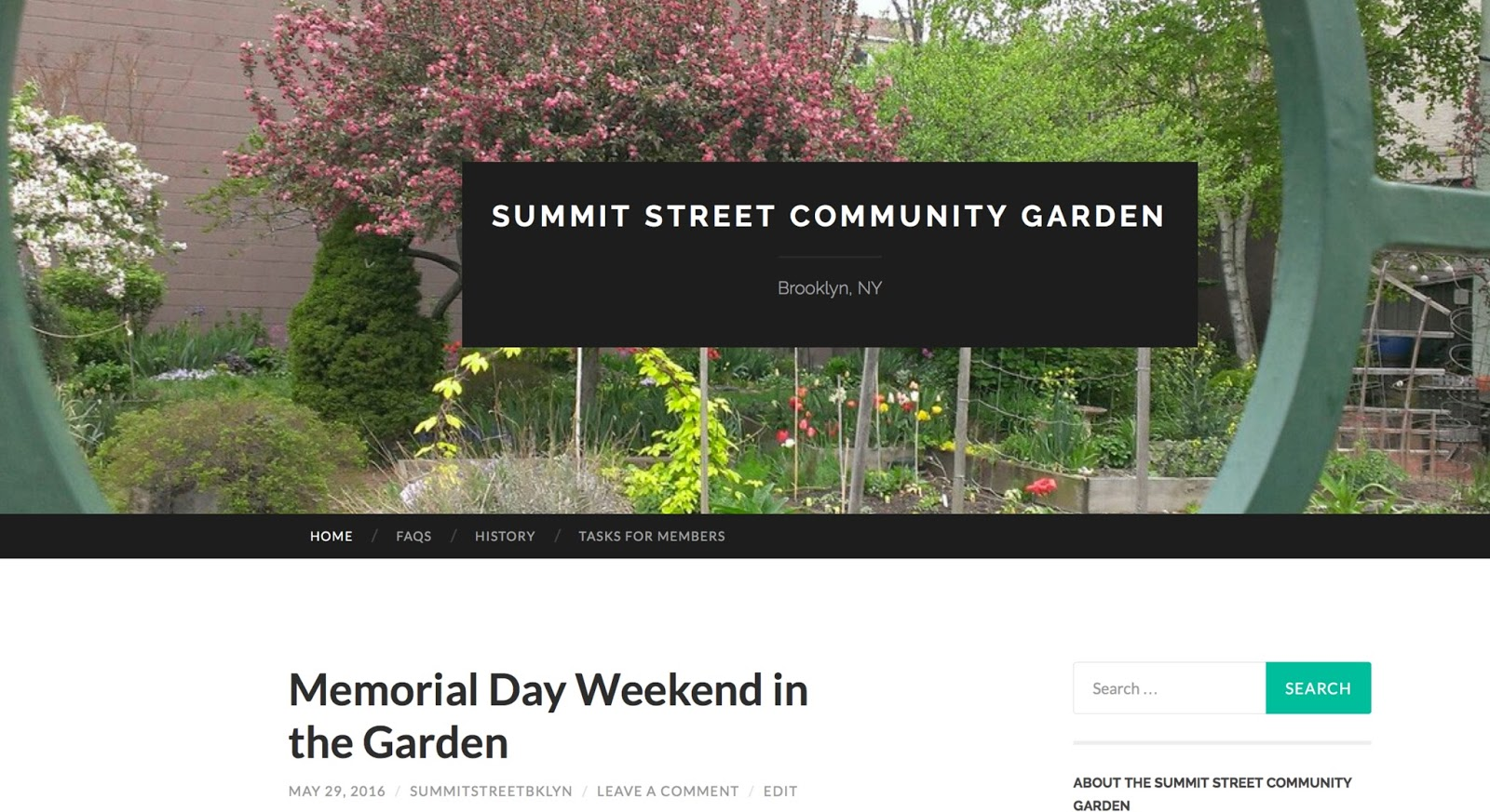 The Summit Street Community Garden Website Has Moved!