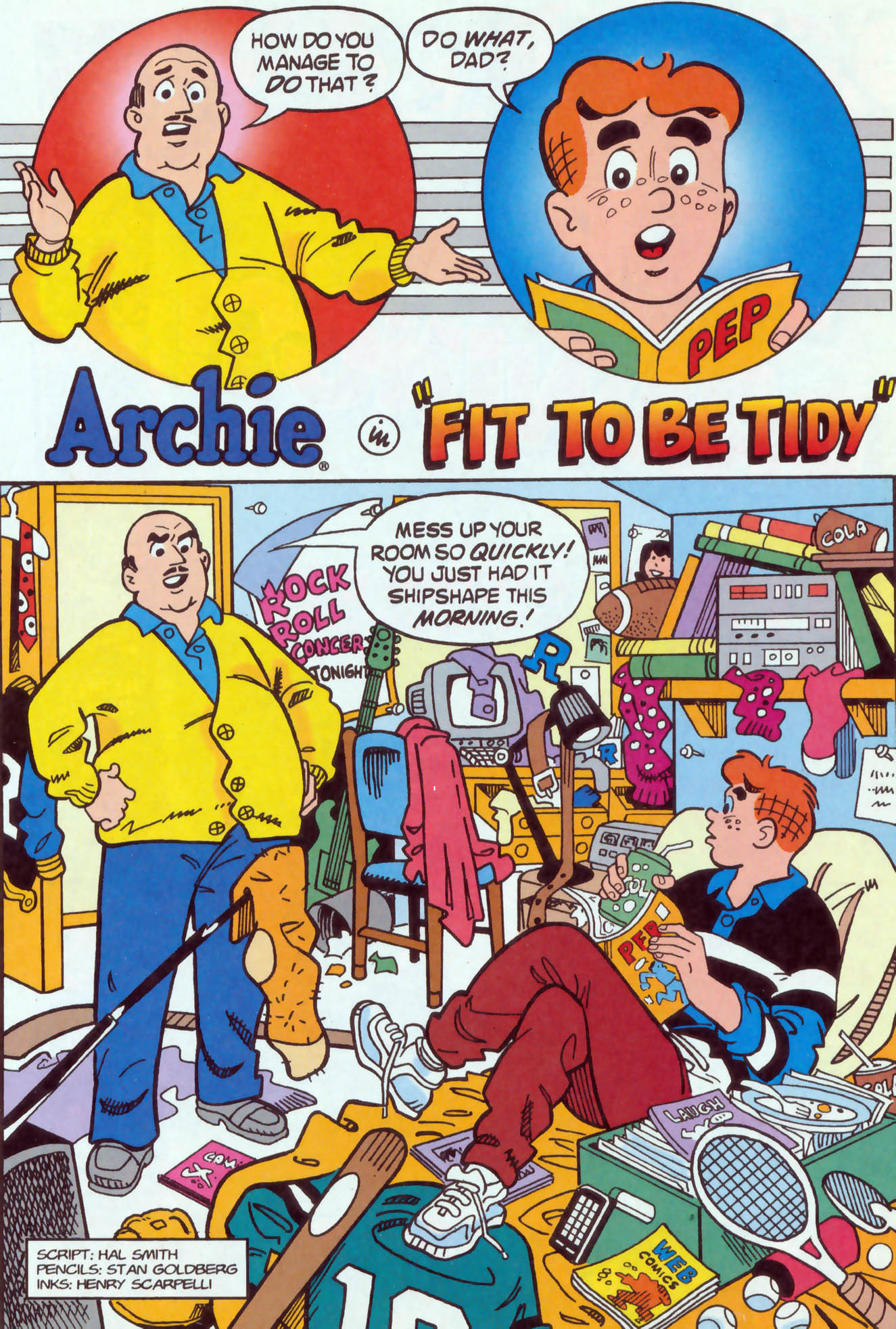 Read online Archie (1960) comic -  Issue #470 - 14